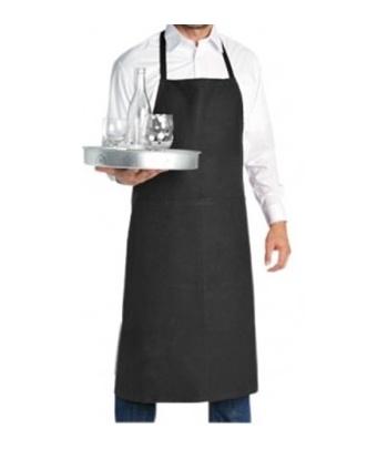 TABLIER NOIR ou BLANC AVEC POCHE
