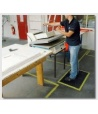 TAPIS ERGONOMIQUE ANTI FATIGUE NOIR