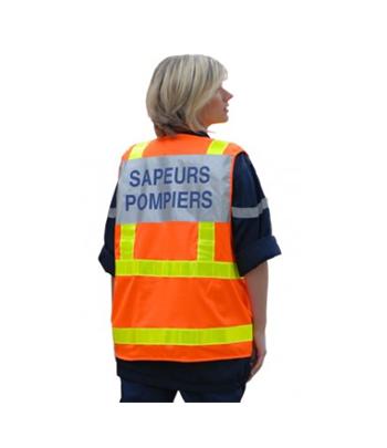 GILET SAPEURS-POMPIERS...