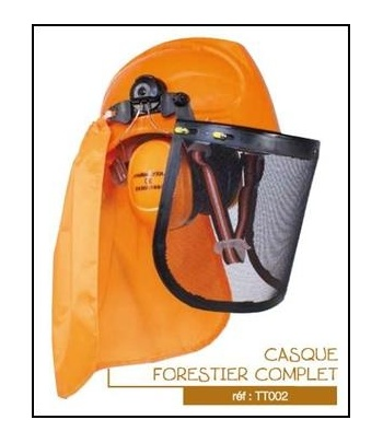 CASQUE FORESTIER COMPLET...